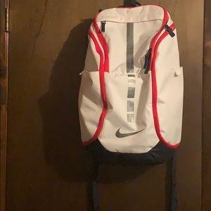 A Nike backpack